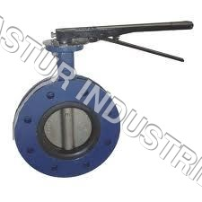 FLANGE TYPE STAINLESS STEEL BUTTERFLY VALVE