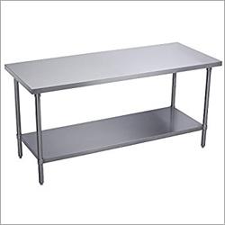 Under Shelves Table