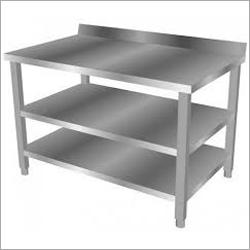 Under Shelves SS Table