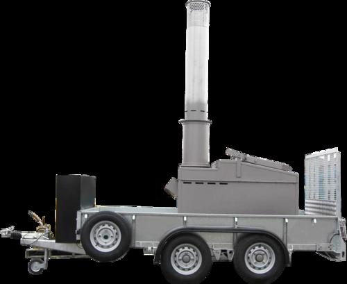 Portable Mobile Incinerator