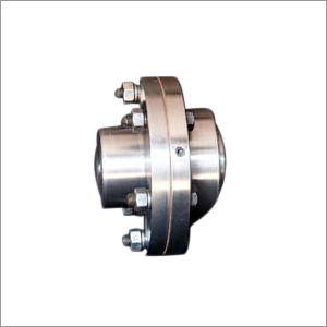 Half Gear Half Rigid Type Coupling
