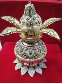 Silver and Gold Plated Kalash