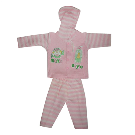 Baby Polly Fill Suit with Hood