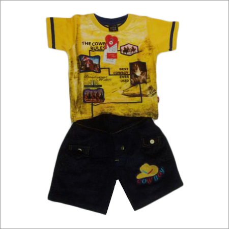 Children Denim Suit