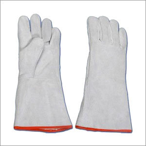 Leather Cotton Gloves