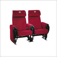 Red Color Cinema Chair