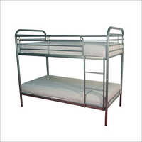 2 Tier Metal Bunk Bed