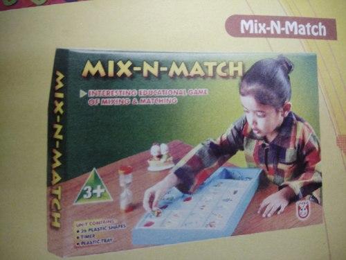Unique Mix N Match Game Multicolor