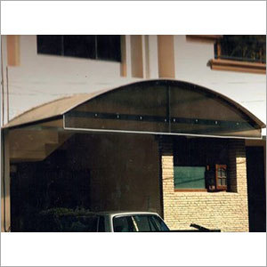 Polycarbonate Sheet Car Shed
