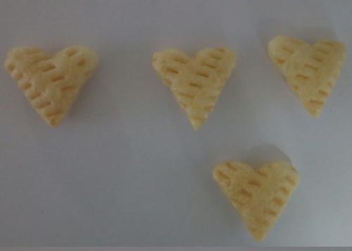 Heart 3D Papad