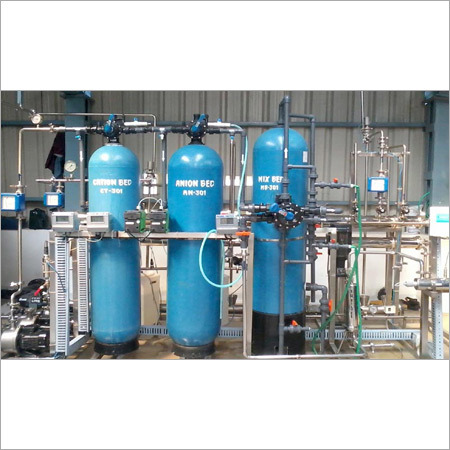 Demineralizing (DM) Plants