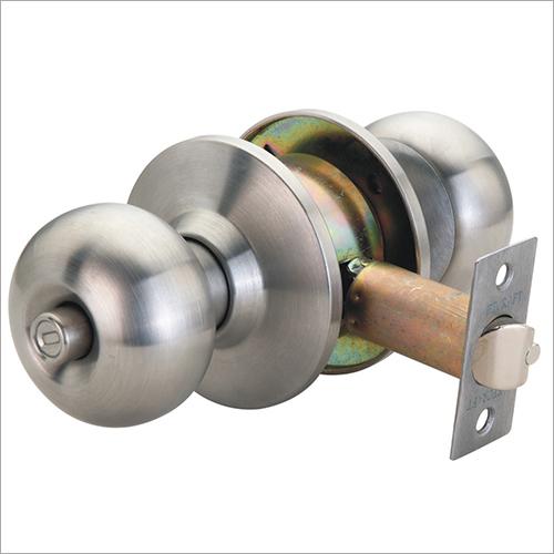 Push Knob Lock