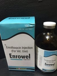 ENROFLOXACIN INJECTION 100 ML.
