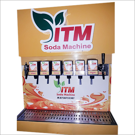 6+1 Valve Soda Machine