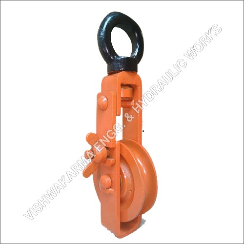 Open Single Sheave Pulley