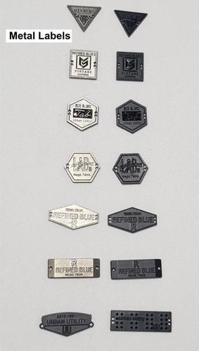 Metal Lables