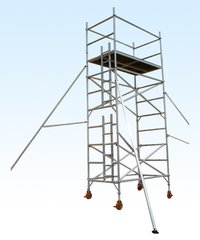 Double Width Aluminum Scaffolding Tower