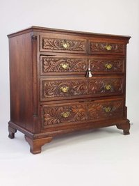 Hand carved furniture chests of drawers