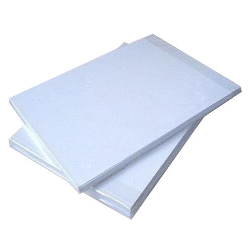 Lamination Backup - White / Silver