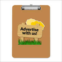 Advertise paper board