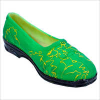 Women PVC Belly Shoe