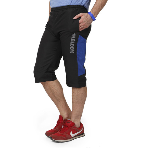 Mens Capri (Black & Blue)