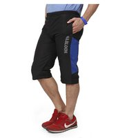 Mens Black & Blue Capri