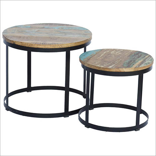 Iron Set Of 2 Tables