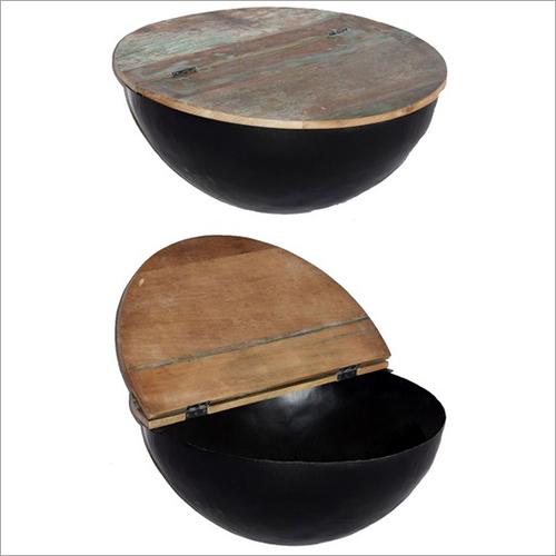 Iron Bowl Table