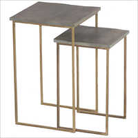 Iron Table Set