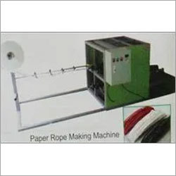 Paper Rope Making Machine