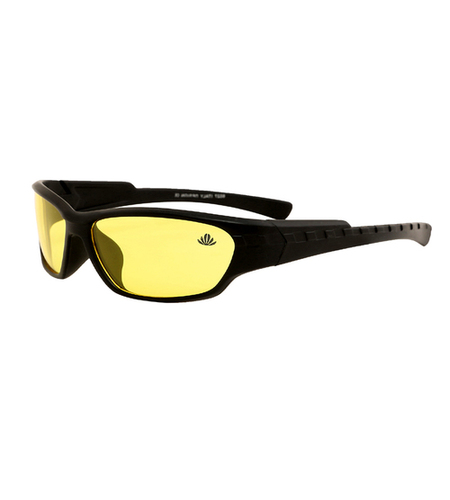 Mens yellow & black night drive sunglasses