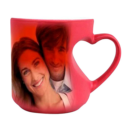 Sublimation Mug (Mug Magic Body Heart Handle)