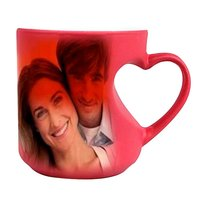 Sublimation Color Changing Body Heart Mug