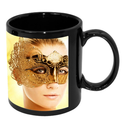 Sublimation Mug - Full Color With White Patch