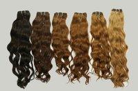 DARK BROWN BLEACHED HAIR