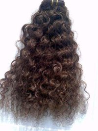 Curly Non Remy Human Hair