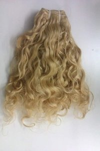 Blonde Non Remy Human Hair