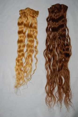 Colored Non Remy Human Hair