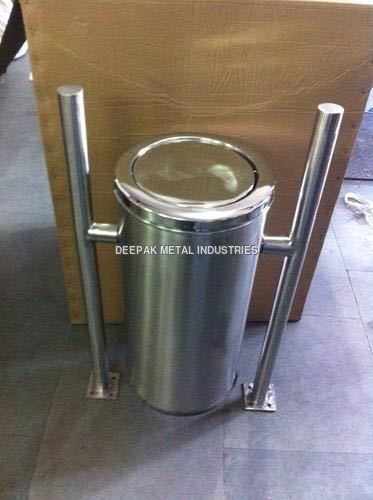 Stainless Steel Hanging Dustbin