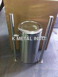 Stailness Steel Hanging Dustbin