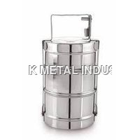 2 Tier Stainless Steel Lunch Box