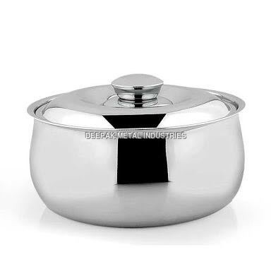 Stainless Steel Oval Casserole