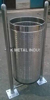 Steel Open Dustbin