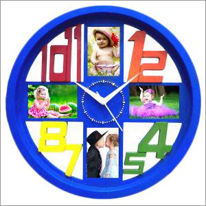 Wall Clock Blue