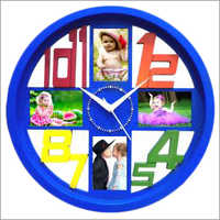 Wall Clock Blue
