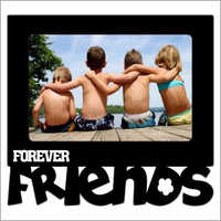 Sublimation Blank-Friends Frame