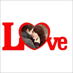 Sublimation Blank-Heart Love Frame