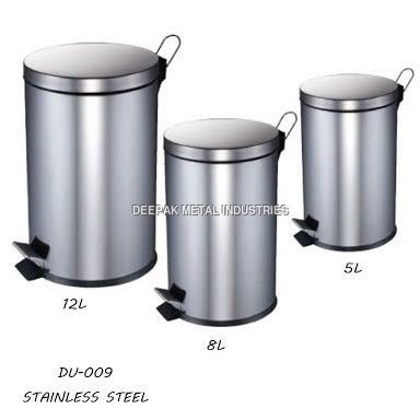Stainless Steel Dustbin Manufacturer
