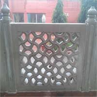 White 3d Stone Jali
